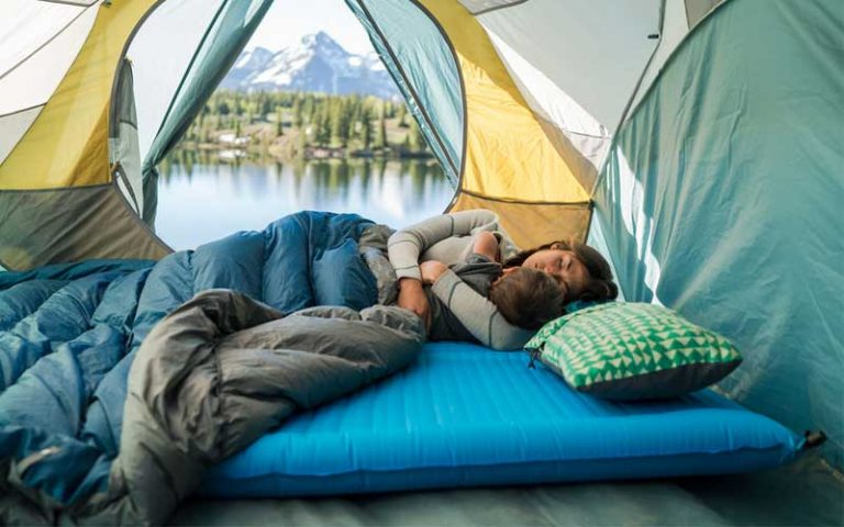 8 Most Comfortable Ways To Sleep In A Tent