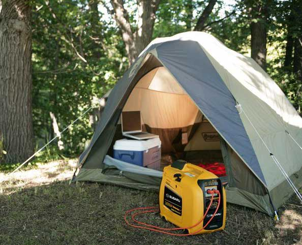 Can I Use A Generator On A  Campsite