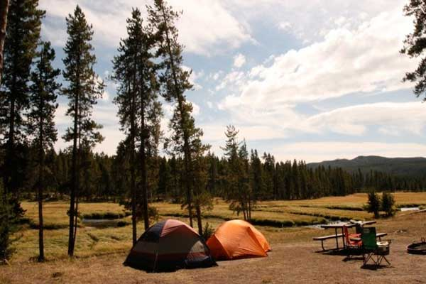 Best Camping Place in Wyoming