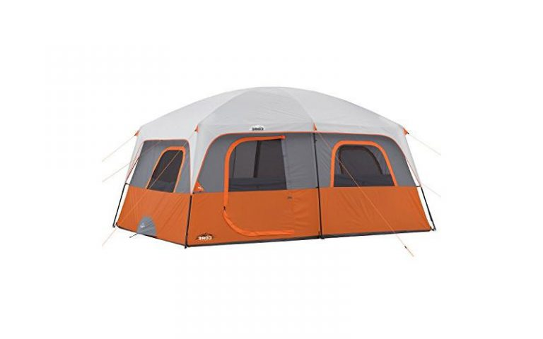 Core 10 Person Straight Wall Cabin Tent: Definitive Review (2021)