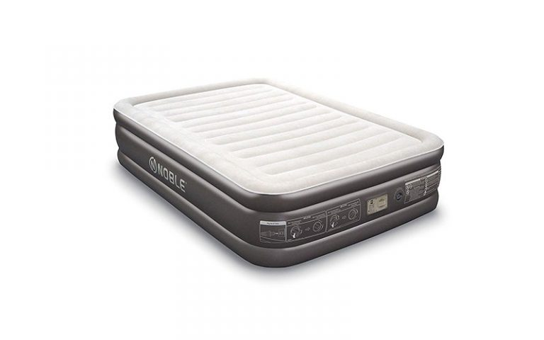Noble Queen Size Comfort Double High Raised Air Mattress – Definitive Review 2021)