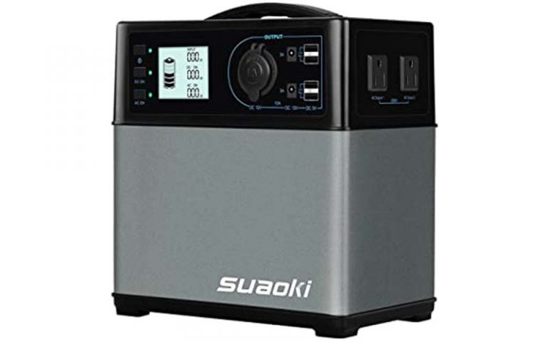 Suaoki Portable Power Station (400 watts): Definitive Review (2021