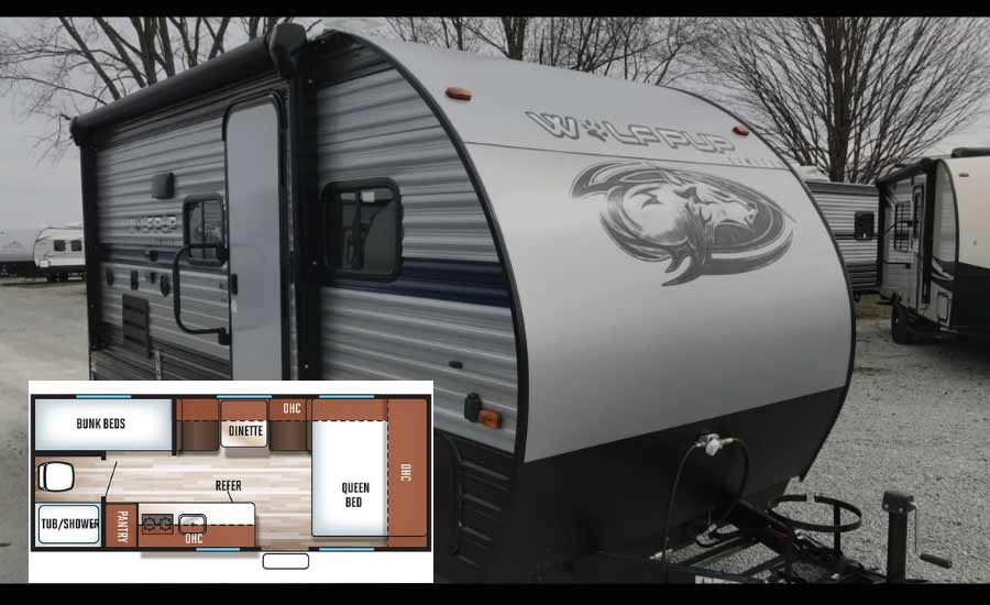 Forest River Cherokee Wolf Pup 16BHS Travel Trailer