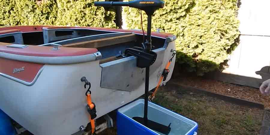 Can a trolling motor be used on a kayak